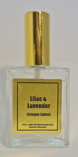 Lilac & Lavender 2 oz. Cologne Spray - Click Image to Close