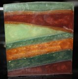 Spellbound Woods Clear Glycerin Geometric Soap