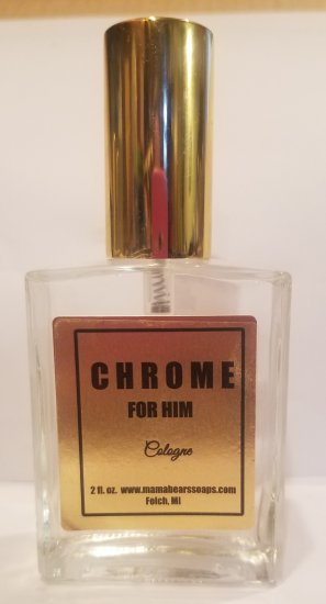Chrome for Him Cologne - Click Image to Close