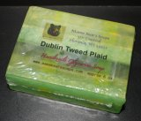 Dublin Tweed Plaid Glycerin Soap