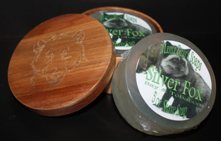 Silver Fox 5 oz Shave Soap - Click Image to Close