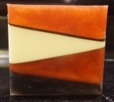 Dragon's Blood Geometric Glycerin Bath Soap