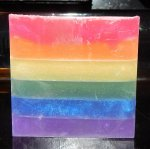 Rainbow Soap with Sensual fragrance