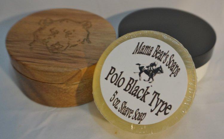 Polo Black Type Shaving Soap - Click Image to Close