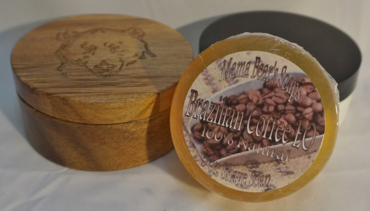 Brazilian Coffee eo shaving soap - Click Image to Close