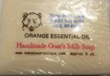 Goat's Milk Soap with Orange Essential Oil