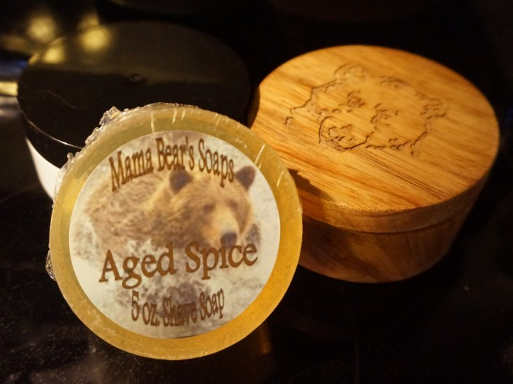 Aged Spice Glycerin Shave Soap - Click Image to Close