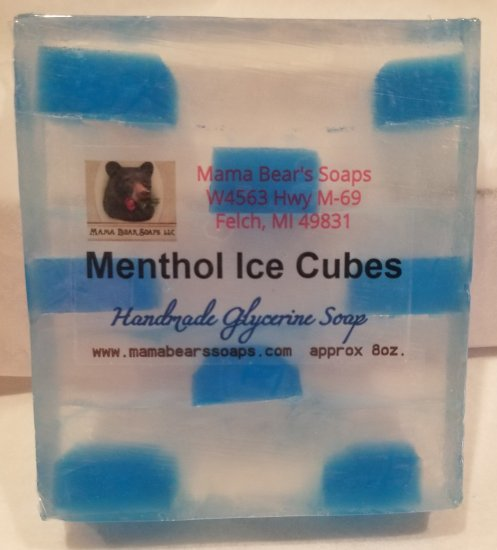 Ice Cubes Soap with Menthol - Click Image to Close