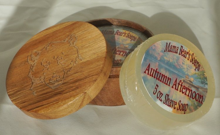 Autumn Afternoon Glycerin Shave Soap - Click Image to Close