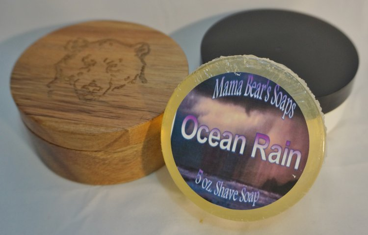 Ocean Rain Glycerin Shave Soap - Click Image to Close
