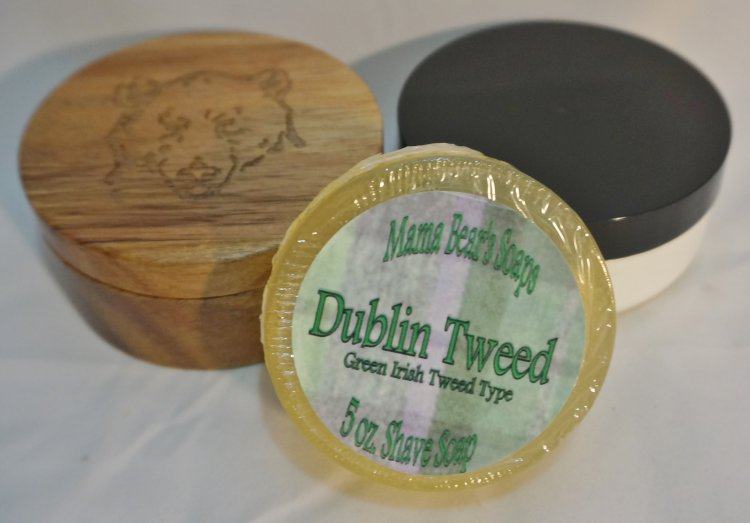 Dublin Tweed Type Glycerin Shave Soap - Click Image to Close
