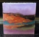 Lilac Abstract Soap Large Bar