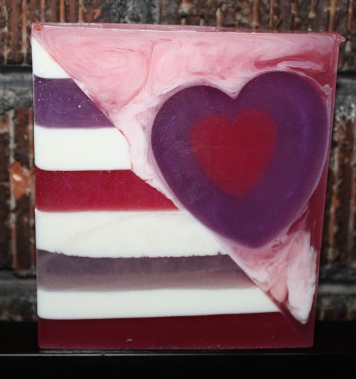 Jackie's Jasmine Valentines Soap - Click Image to Close
