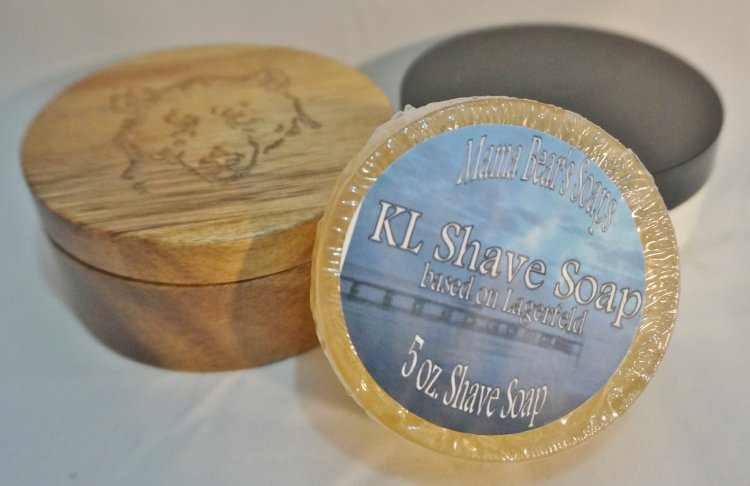 KL Glycerin Shave Soap - Click Image to Close