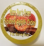 Spiced Hot Apple Cider Glycerin Shave Soap