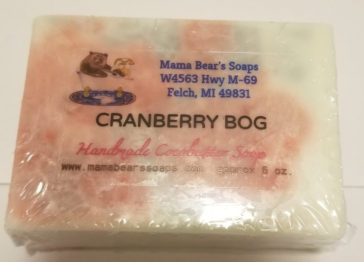 Cranberry Cocoa Butter Soap - Click Image to Close