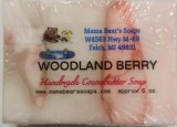 Woodland Berry Cocoa butter bath soap