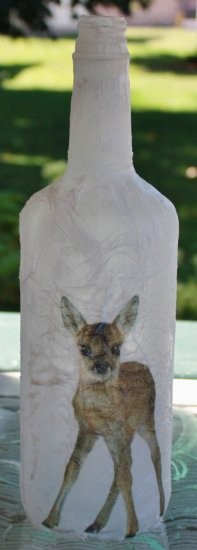 Baby Deer Bottle - Click Image to Close