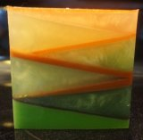 Northwoods Geometric Glycerin Bath Soap