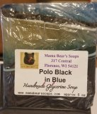 Polo Black in Blue Glycerin Soap