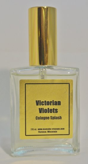 Victorian Violets 2 oz. Cologne Spray - Click Image to Close