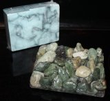 Signature Soap Dish, River Pebbles