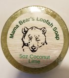 Coconut Lime Loofah Glycerin Soap