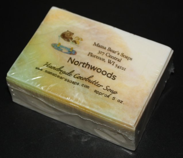 Northwoods Cocoabutter Bath Soap - Click Image to Close