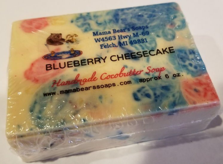 Blueberry Cheesecake Cocoabutter Bath Soap - Click Image to Close