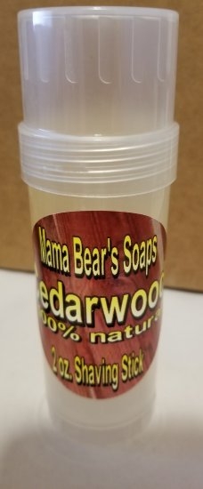 Cedarwood Shave Stick - Click Image to Close