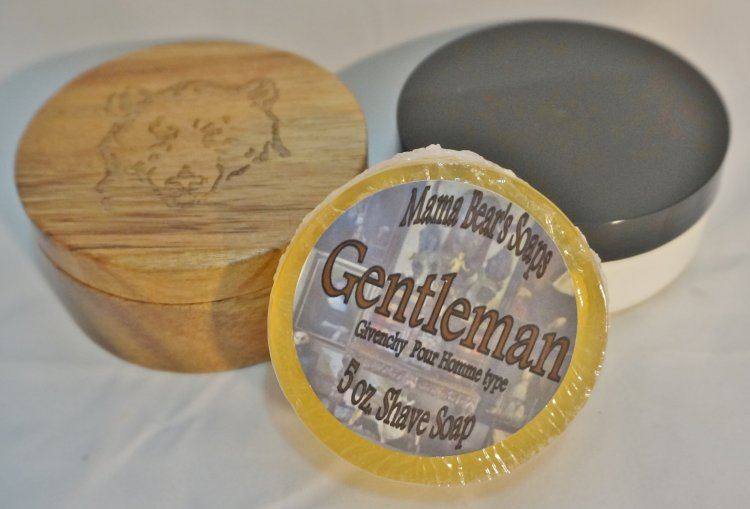 Gentleman Shaving Soap, Givenchy pour Homme type - Click Image to Close