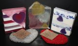 Valentine's Day Special.. 3 soaps and a heart soap life.