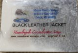 Black Leather Jacket Scented Cocoabutter Bath Soap