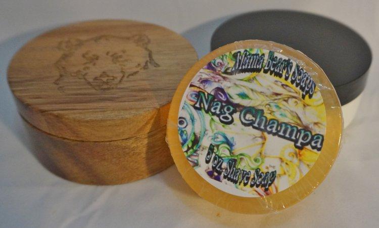 Nag Champa Shaving Soap - Click Image to Close
