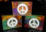 Peace Sign Glycerin Soap