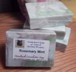 Rosemary Mint Cocoabutter Bath Soap