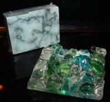 Signature Soap Dish, Sea Glass