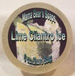 Lime Cilantro Ice Shave Soap