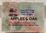 Apples and Oak Cocoa Butter Soap