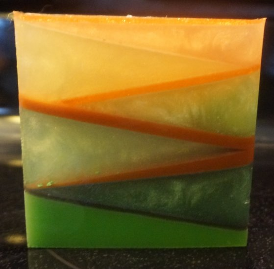 Northwoods Geometric Glycerin Bath Soap - Click Image to Close