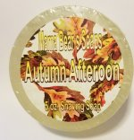 Autumn Afternoon Glycerin Shave Soap