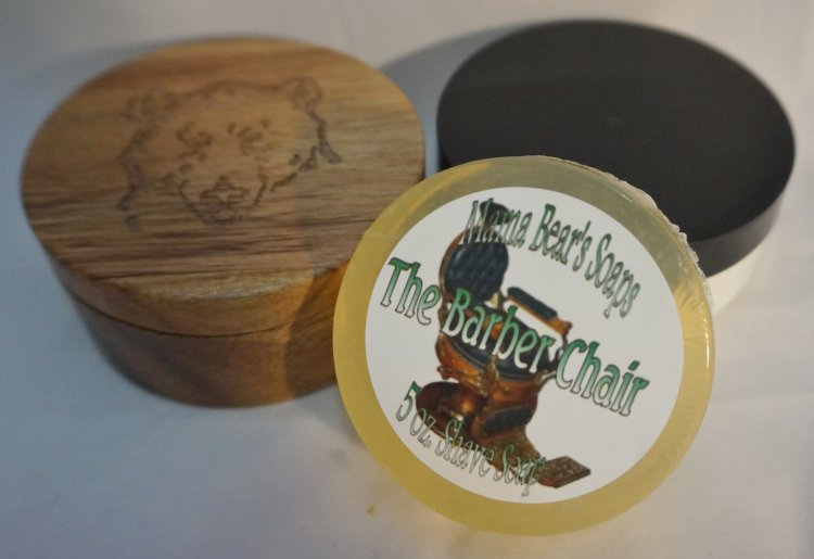 The Barber Chair 5 oz. Shaving Soap - Click Image to Close