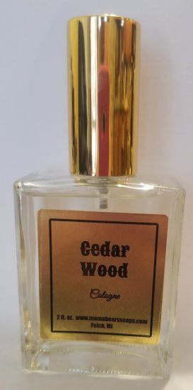 Cedar wood Cologne - Click Image to Close