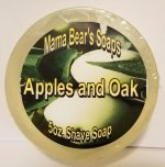 Apples and Oak Shave Soap