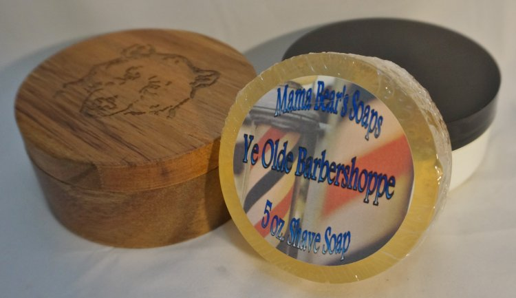 Ye Olde Barbershoppe Shave Soap - Click Image to Close