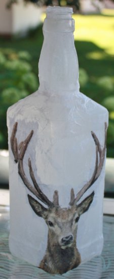 Stag Head Bottle - Click Image to Close