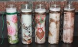 TALL UNSCENTED CONTAINER CANDLES