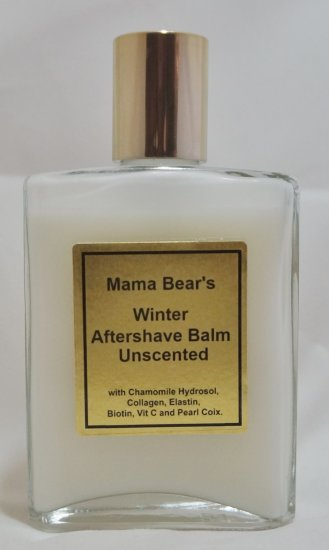 Unscented Winter Aftershave Balm - Click Image to Close